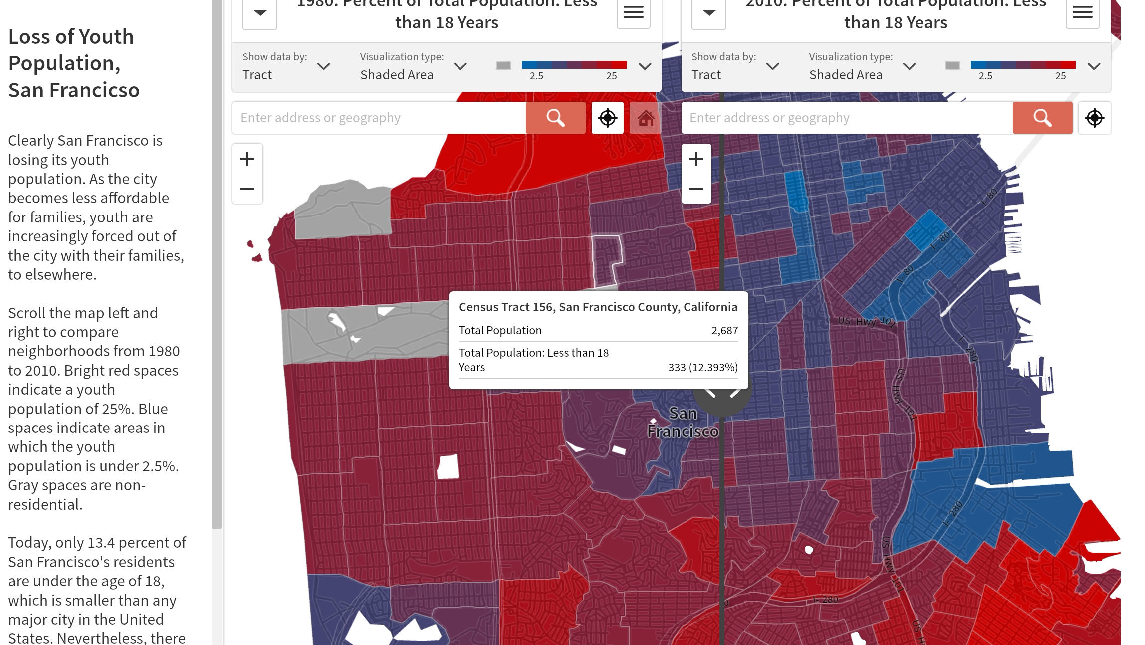 Anti-eviction Mapping Project Shows How Families Are Priced Out of SF