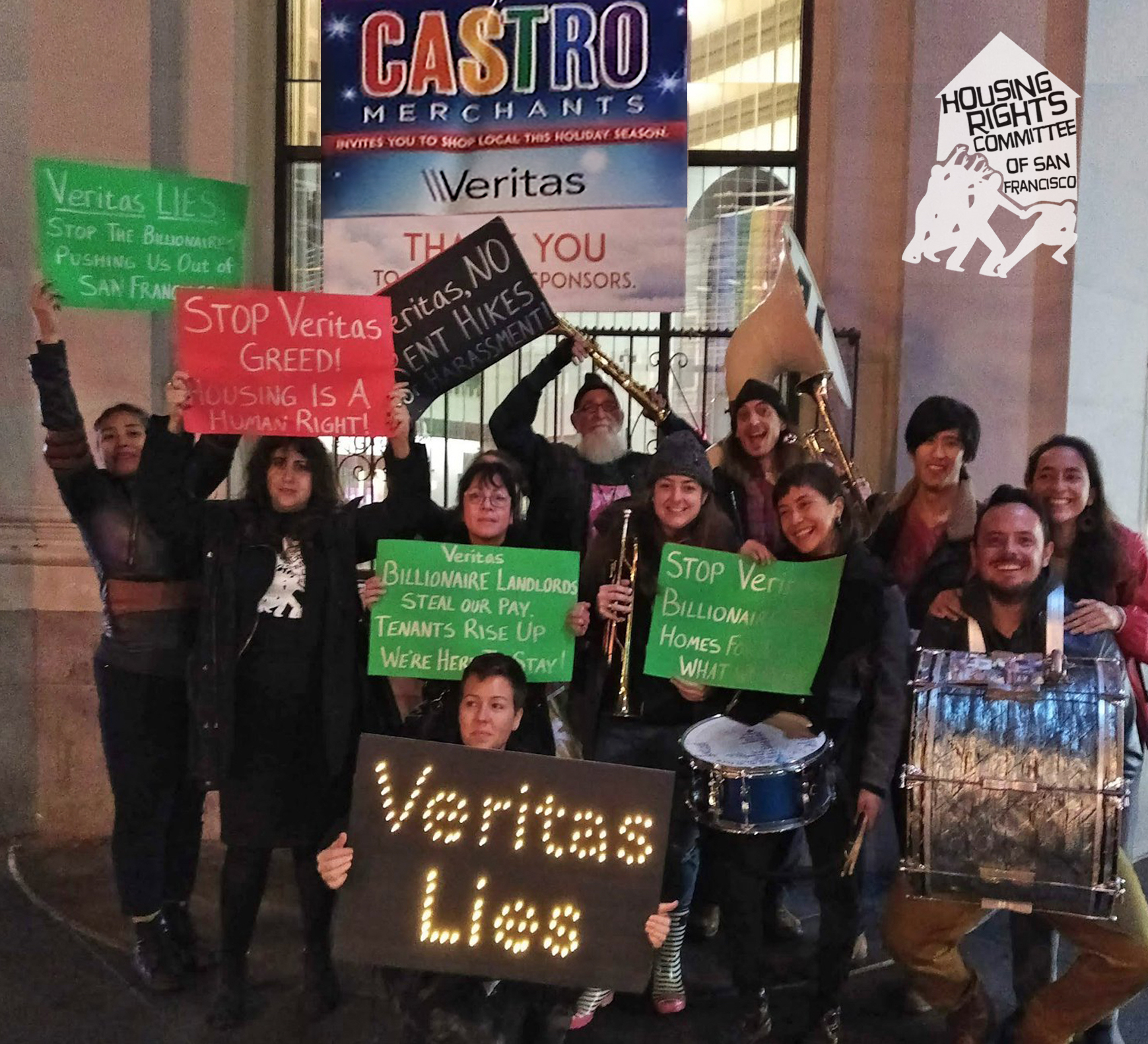 Take Action With Veritas Tenants